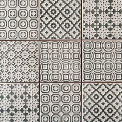 batik italian wall tile | carbon | melbourne | luscombe