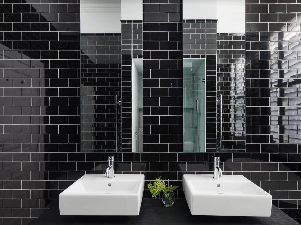 Black & White Bathroom Tiles | Melbourne | Luscombe Tiles