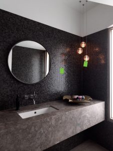 Black and White Bathroom Tiles Ideas | Melbourne | Luscombe Tiles