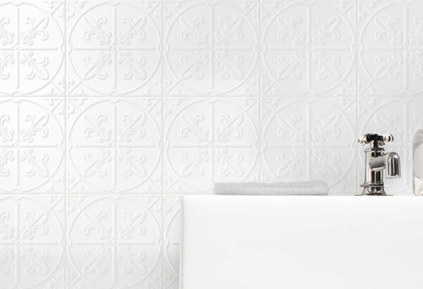 Pressed Metal Look Wall Tile | Anthology Empire | Essendon | Sunbury | Melbourne | Luscombe Tiles