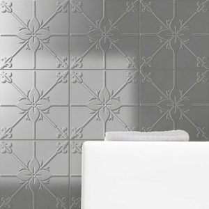 Pressed Metal Look Wall Tile | Anthology Manor | Essendon | Sunbury | Melbourne | Luscombe Tiles
