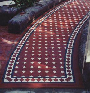 Tessellated Tiles Melbourne | Period Tiles | Essendon | Sunbury | Luscombe Tiles