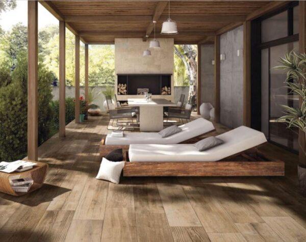 Exterior / Floor Tiles Melbourne   Cross Wood Range   Dust   Luscombe Tiles