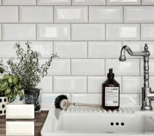 White Bevelled Wall Tiles | Melbourne | Essendon | Sunbury | Luscombe Tiles