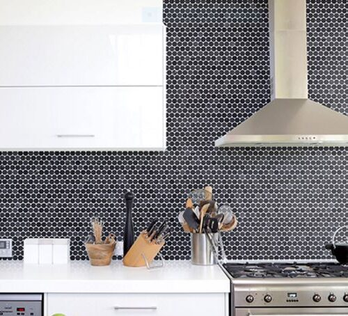 MONTAGE DIME Marble Mosaic