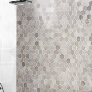 Montage Sirocco Hexagons | Feature Tiles | Essendon | Sunbury | Melbourne | Luscombe Tiles