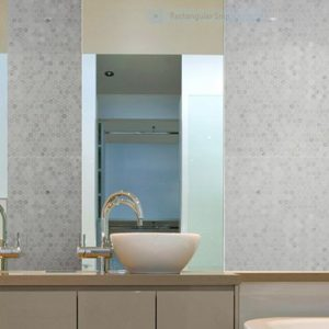 Montage Tosca Small Hexagon Mosaics by Southern Cross Ceramics | Feature Tiles Melbourne | Luscombe Tiles