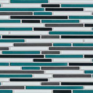 Subway Glass Wall Tiles | Ocean Glass Mosaic | Essendon | Sunbury | Melbourne | Luscombe Tiles