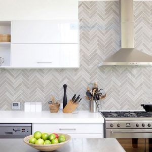 Montage Soho Mosaic Grey by Southern Cross Ceramics | Feature Tiles Melbourne | Luscombe Tiles