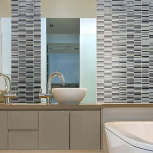 Montage Vitra Mosaics by Southern Cross Ceramics | Feature Tiles Melbourne | Luscombe Tiles