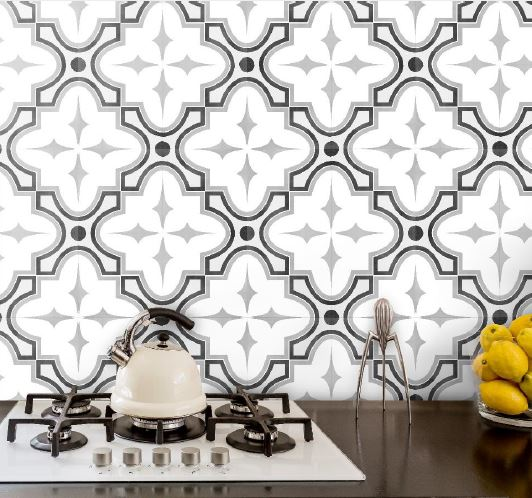 Frame | Tie B&W | Floor Tiles | Feature Tiles | Melbourne | Essendon | Sunbury | Luscombe Tiles