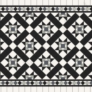 CAMDEN PATTERN | Tessellated Tiles | Period Tiles | Melbourne | Essendon | Sunbury | Luscombe Tiles