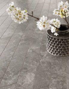 Trilogy | Chevron Sandy Grey | Floor Tiles | Melbourne | Essendon | Sunbury | Luscombe Tiles