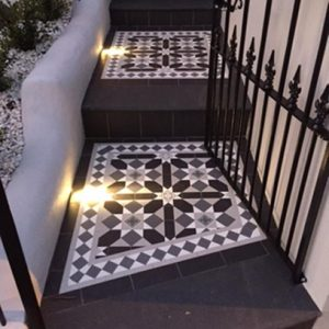 FITZROY PATTERN | Tessellated Tiles | Period Tiles | Melbourne | Essendon | Sunbury | Luscombe Tiles