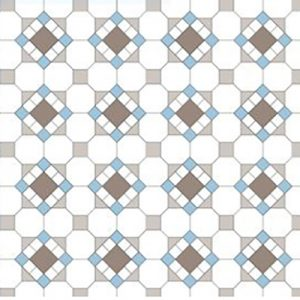 HAWTHORN PATTERN | Tessellated Tiles | Period Tiles | Melbourne | Essendon | Sunbury | Luscombe Tiles