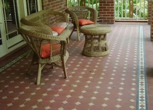 OXLEY PATTERN | Tessellated Tiles | Period Tiles | Melbourne | Essendon | Sunbury | Luscombe Tiles