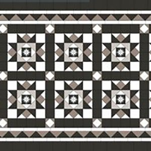 PETERSHAM PATTERN | Tessellated Tiles | Period Tiles | Melbourne | Essendon | Sunbury | Luscombe Tiles