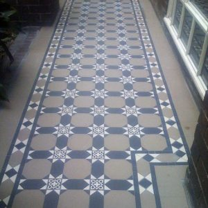 RAFFLES PATTERN | Tessellated Tiles | Period Tiles | Melbourne | Essendon | Sunbury | Luscombe Tiles
