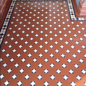 RAGLAN PATTERN | Tessellated Tiles | Period Tiles | Melbourne | Essendon | Sunbury | Luscombe Tiles
