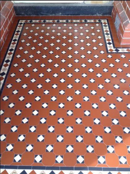 RAGLAN PATTERN | Tessellated Tiles | Period Tiles | Melbourne | Essendon | Sunbury | Luscombe Tiles