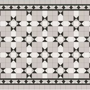 ADELAIDE PATTERN | Tessellated Tiles | Period Tiles | Melbourne | Essendon | Sunbury | Luscombe Tiles
