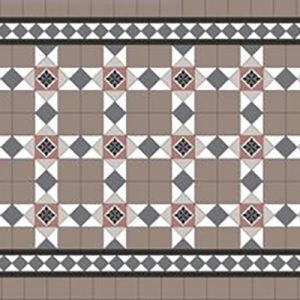 ASHFIELD PATTERN | Tessellated Tiles | Period Tiles | Melbourne | Essendon | Sunbury | Luscombe Tiles