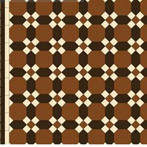 BENDIGO PATTERN | Tessellated Tiles | Period Tiles | Melbourne | Essendon | Sunbury | Luscombe Tiles