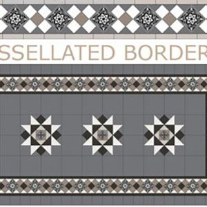 BORDERS | Tessellated Tiles | Period Tiles | Melbourne | Essendon | Sunbury | Luscombe Tiles