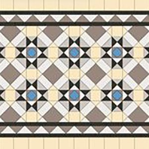CHADSTONE PATTERN | Tessellated Tiles | Period Tiles | Melbourne | Essendon | Sunbury | Luscombe Tiles