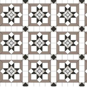 NEWPORT PATTERN | Tessellated Tiles | Period Tiles | Melbourne | Essendon | Sunbury | Luscombe Tiles