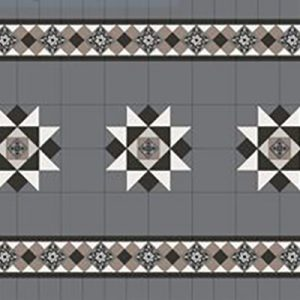 NEWTOWN PANEL | Tessellated Tiles | Period Tiles | Melbourne | Essendon | Sunbury | Luscombe Tiles