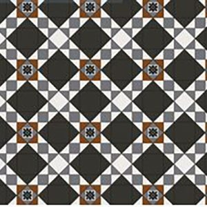 SUTHERLAND PATTERN | Tessellated Tiles | Period Tiles | Melbourne | Essendon | Sunbury | Luscombe Tiles