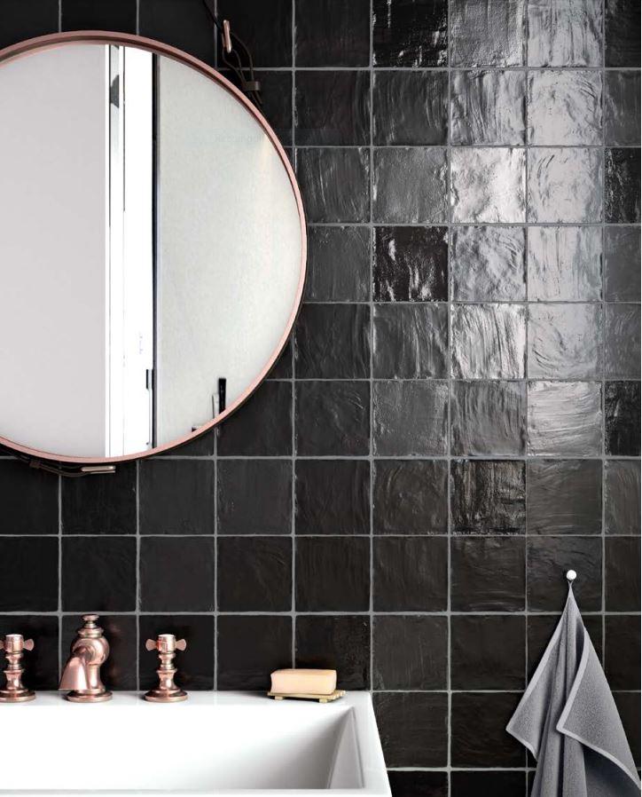 Mallorca Black | Wall Tiles | Melbourne | Essendon | Sunbury | Luscombe Tiles