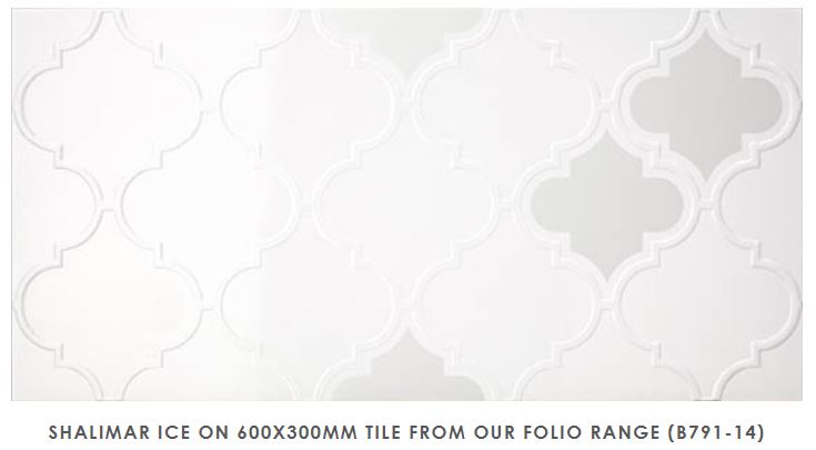 Shalimar - Folio Range | Ice | Feature Tiles Melbourne | Essendon | Sunbury | Luscombe Tiles
