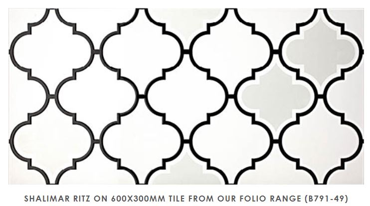 Shalimar - Folio Range | Ritz | Feature Tiles Melbourne | Essendon | Sunbury | Luscombe Tiles