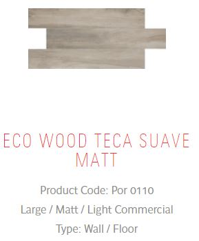 Eco Wood Suave | Floor Tiles | Melbourne | Essendon | Sunbury | Luscombe Tiles