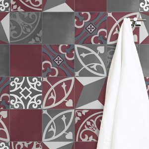 Floor & Wall Tile | Bristol Blend Charcoal Oxblood | Essendon | Sunbury | Melbourne | Luscombe Tiles