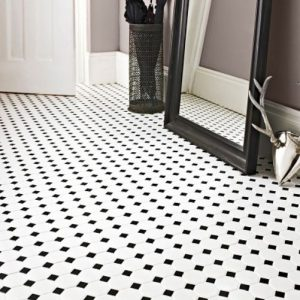 Octagon Dot Mosaics | Floor Tiles | Period Tiles | Melbourne | Essendon | Sunbury | Luscombe Tiles