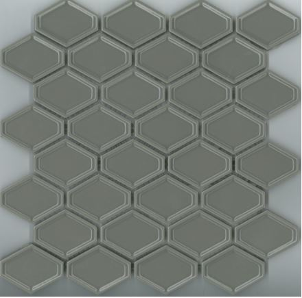 Trend Mosaics | Mid Grey | Melbourne | Essendon | Sunbury | Luscombe Tiles