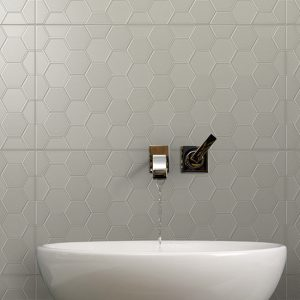 Infinity Geo | Woodsmoke | Floor & Wall Tile | Period Tile | Melbourne | Essendon | Sunbury | Luscombe Tiles