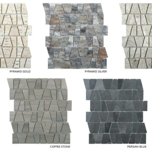 CASTLE Natural Stone Marble Mosaic