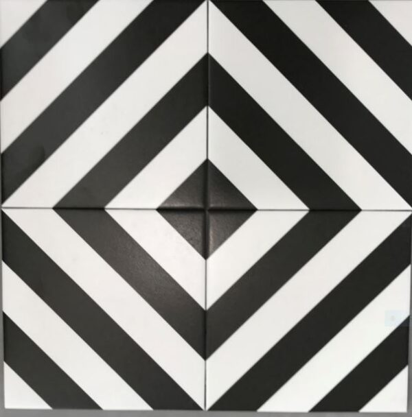 BLACK & WHITE TERRACE | FLOOR TILES | Melbourne | Essendon | Sunbury | Luscombe Tiles