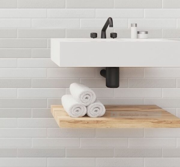 PORTICCIOLI by Quintessenza (Italy) | Bianco Matt | Floor Tiles | Melbourne | Essewndon | Sunbury | Luscombe Tiles