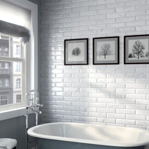 CARRARA METRO BEVELLED | Wall Tiles | Melbourne | Essendon | Sunbury | Luscombe Tiles