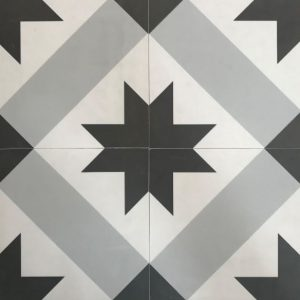 Chicago Star | Floor Tiles | Melbourne | Sunbury | Melbourne | Luscombe Tiles
