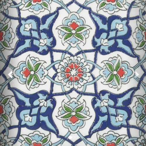 MOROCCO TURKISH BLUE