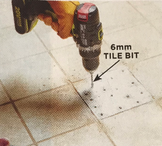How to replace a broken tile | Step 2 | Luscombe Tiles