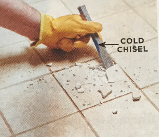 How to replace a broken tile | Step 3 | Luscombe Tiles