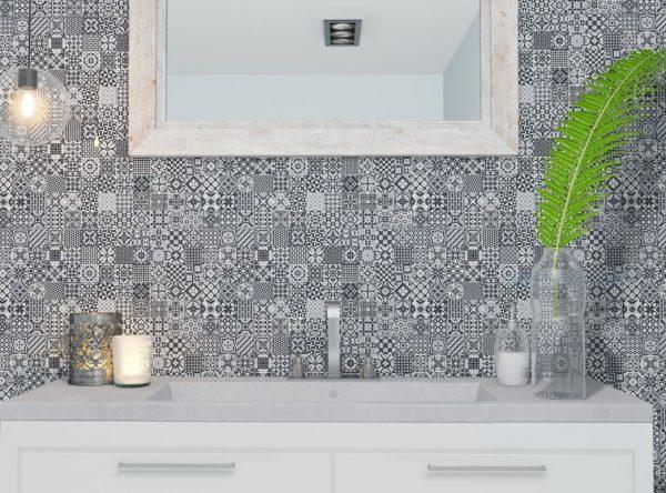Deco Black | Feature Tiles Melbourne | Luscombe Tiles