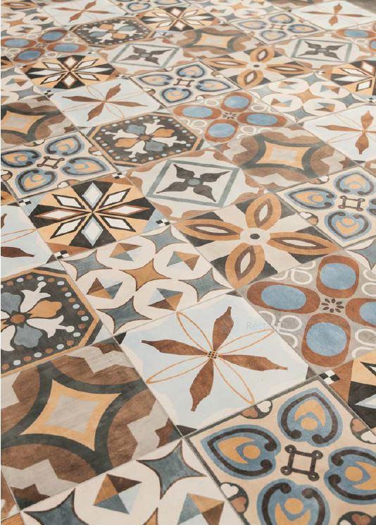 PATCHWORK RANDOM MIX (Italian) | Colours | Essendon | Sunbury | Melbourne | Luscombe Tiles